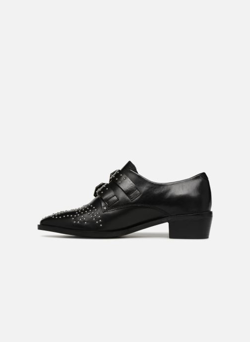 Loafers Bronx Btex-chunky 66077 Black front view