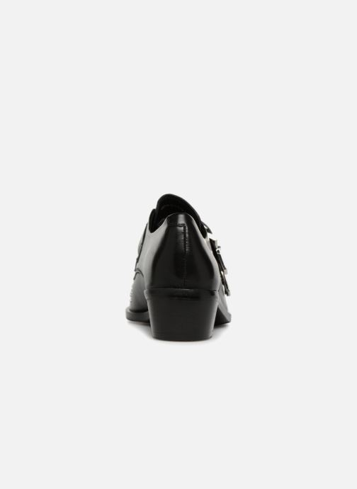 Loafers Bronx Btex-chunky 66077 Black view from the right