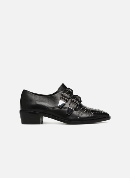 Loafers Bronx Btex-chunky 66077 Black back view