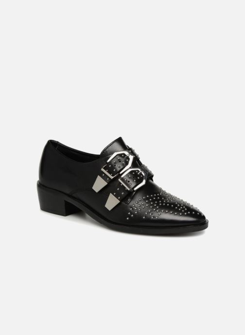 Loafers Bronx Btex-chunky 66077 Black detailed view/ Pair view