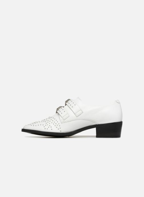 Loafers Bronx Btex-chunky 66077 White front view