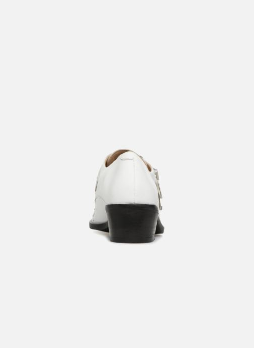 Loafers Bronx Btex-chunky 66077 White view from the right