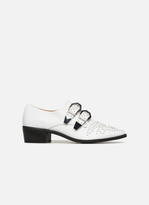 Loafers Bronx Btex-chunky 66077 White back view