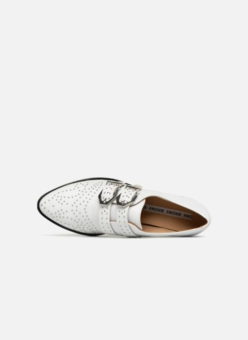 Loafers Bronx Btex-chunky 66077 White view from the left