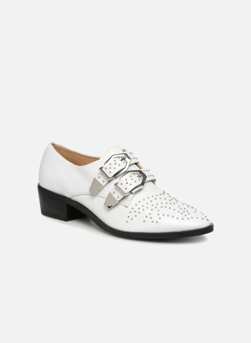 Loafers Bronx Btex-chunky 66077 White detailed view/ Pair view