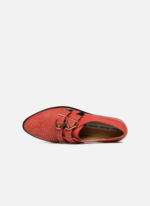 Mocassins Bronx Btex-chunky 66077 Rood links
