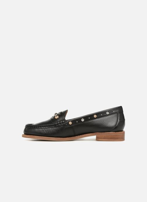 Loafers Bronx Bfrizox 66088 Black front view