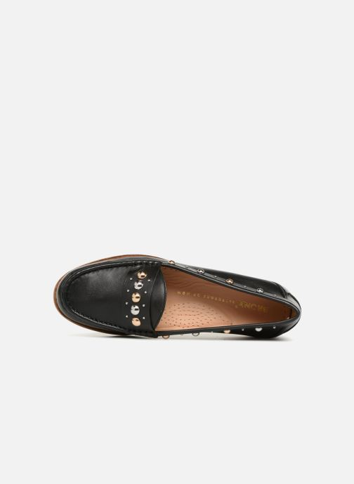Loafers Bronx Bfrizox 66088 Black view from the left