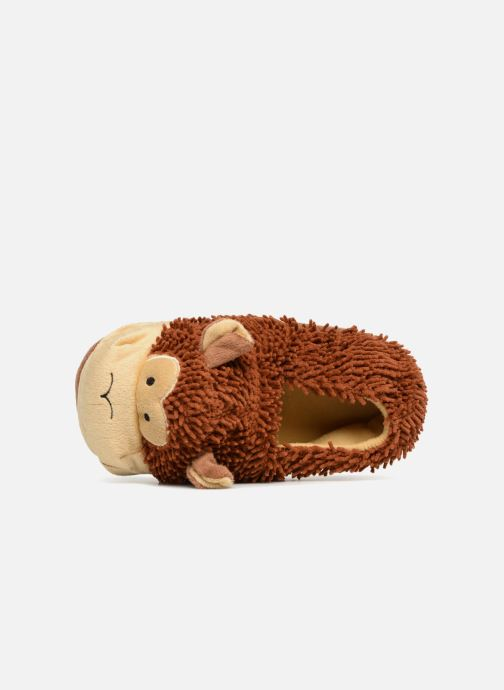 Pantoffels Sarenza Wear Chaussons Enfant Singe Bruin links