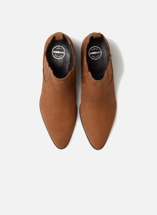 Boots en enkellaarsjes Made by SARENZA Toundra Girl Bottines à Talons #13 Bruin model