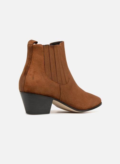 Boots en enkellaarsjes Made by SARENZA Toundra Girl Bottines à Talons #13 Bruin voorkant