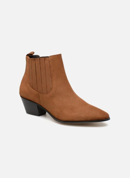 Boots en enkellaarsjes Made by SARENZA Toundra Girl Bottines à Talons #13 Bruin rechts