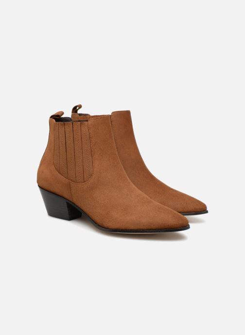 Boots en enkellaarsjes Made by SARENZA Toundra Girl Bottines à Talons #13 Bruin achterkant