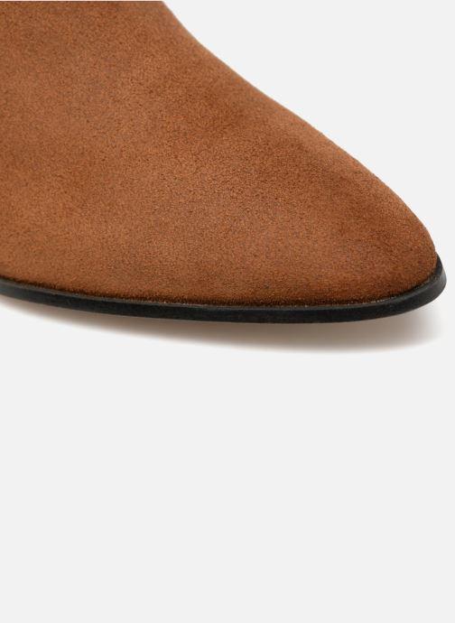 Boots en enkellaarsjes Made by SARENZA Toundra Girl Bottines à Talons #13 Bruin links