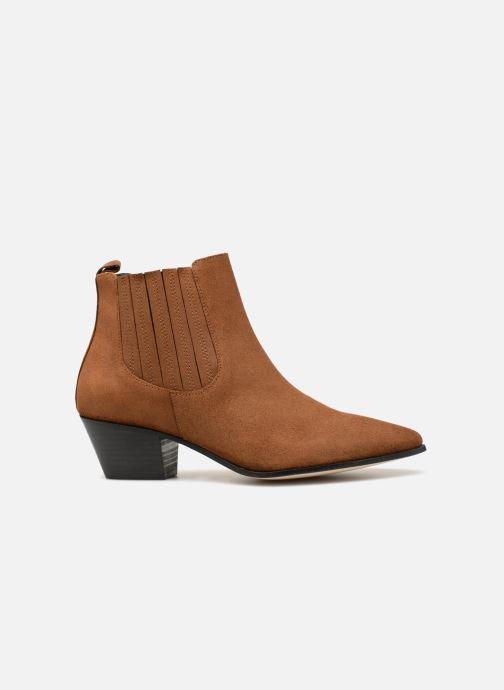 Boots en enkellaarsjes Made by SARENZA Toundra Girl Bottines à Talons #13 Bruin detail