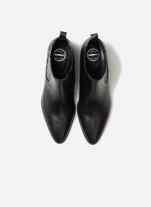 Bottines et boots Made by SARENZA Toundra Girl Bottines à Talons #13 Noir vue portées chaussures