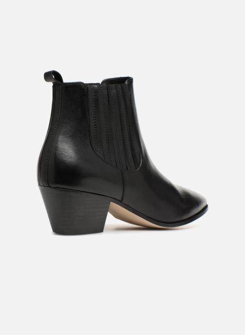 Bottines et boots Made by SARENZA Toundra Girl Bottines à Talons #13 Noir vue face