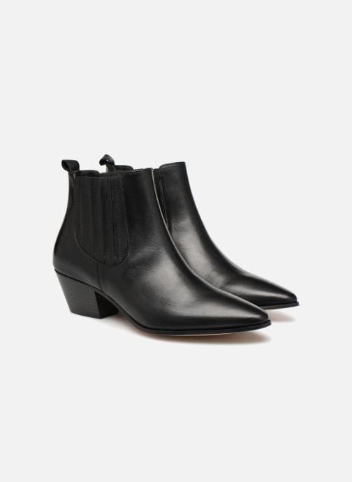 Bottines et boots Made by SARENZA Toundra Girl Bottines à Talons #13 Noir vue derrière