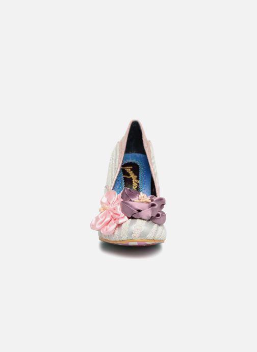 Escarpins Irregular Choice LITTLE PEACHES Rose vue portées chaussures