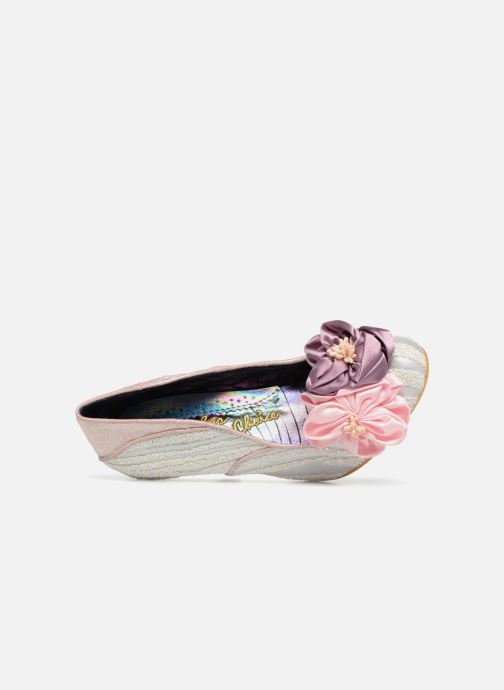 High heels Irregular choice LITTLE PEACHES Pink view from the left