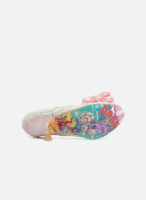 High heels Irregular choice LITTLE PEACHES Pink view from above