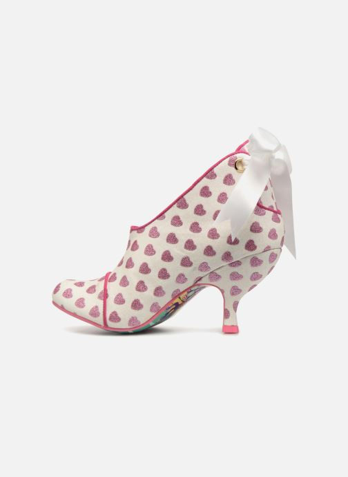 Escarpins Irregular Choice LOVE IS IN THE AIR Blanc vue face