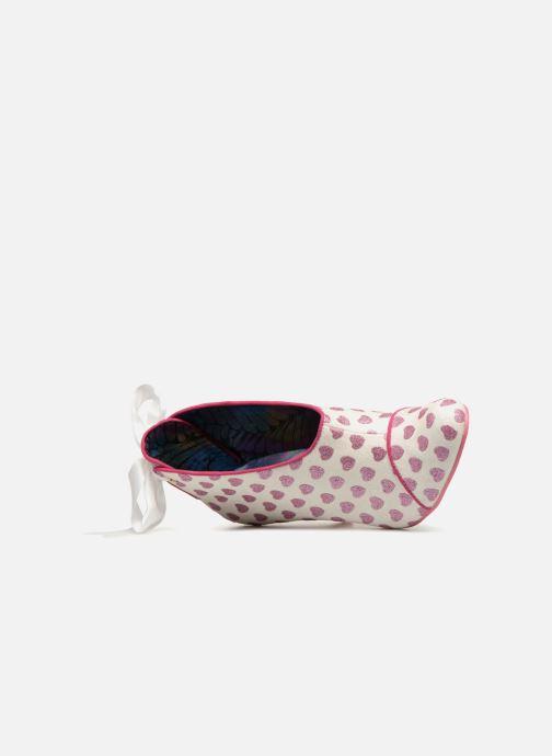 Zapatos de tacón Irregular choice LOVE IS IN THE AIR Blanco vista lateral izquierda