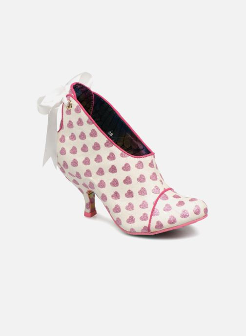 Escarpins Irregular Choice LOVE IS IN THE AIR Blanc vue détail/paire