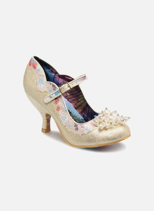 Escarpins Irregular Choice SHOESBURY Blanc vue détail/paire