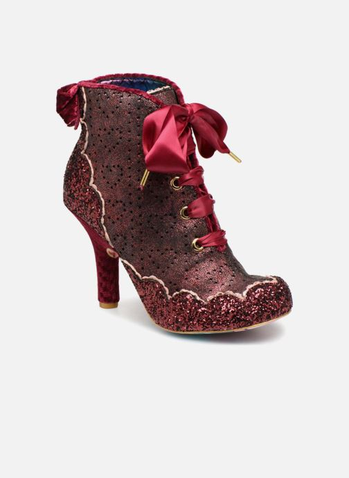 Bottines et boots Irregular Choice GLOSSOP Bordeaux vue détail/paire