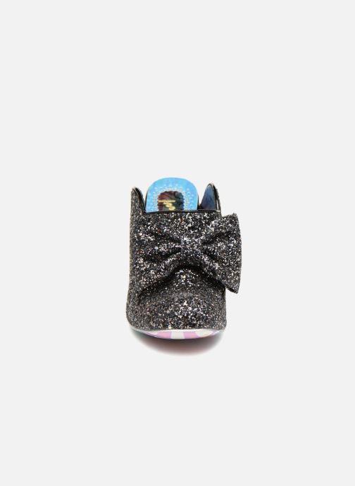 Mules et sabots Irregular Choice GLITTER QUEEN Noir vue portées chaussures