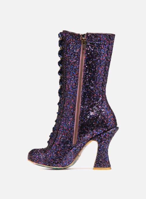 Boots & wellies Irregular choice LUNA SPARKLES Purple front view