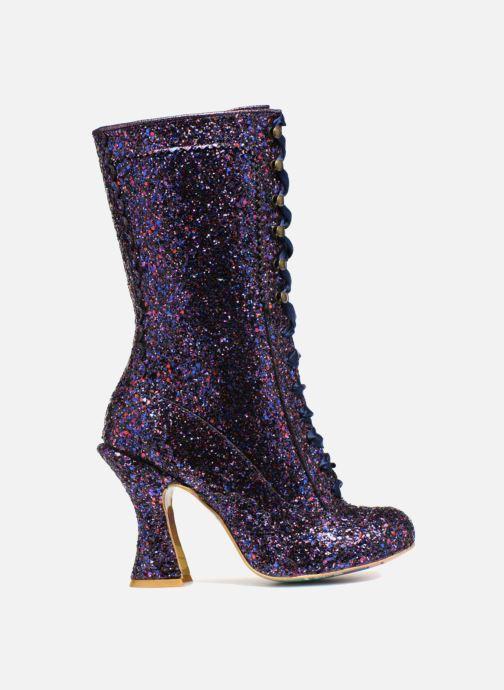 Boots & wellies Irregular choice LUNA SPARKLES Purple back view