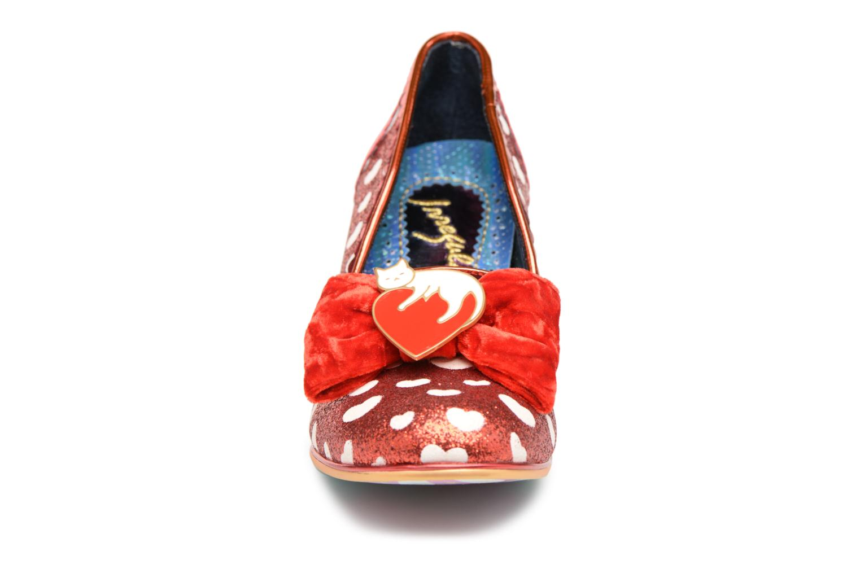Escarpins Irregular Choice DREAM LOVER Rouge vue portées chaussures