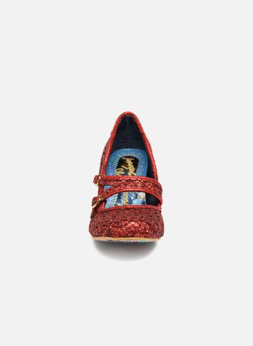 Escarpins Irregular Choice DAZZLE DANCE Rouge vue portées chaussures