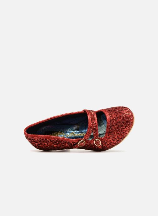 High heels Irregular choice DAZZLE DANCE Red view from the left