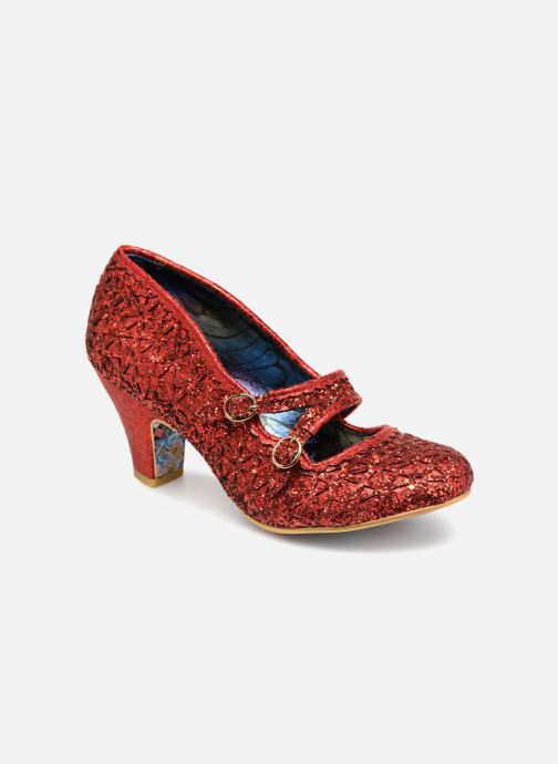 High heels Irregular choice DAZZLE DANCE Red detailed view/ Pair view