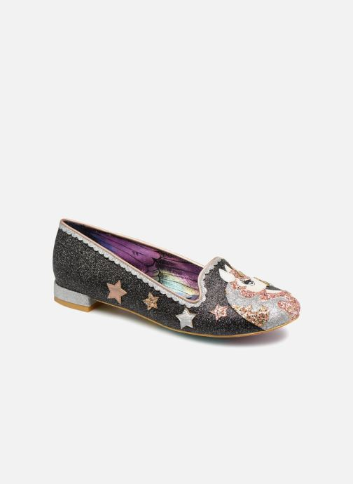 Mocassins Irregular Choice LOOSEN THE REINS Noir vue détail/paire