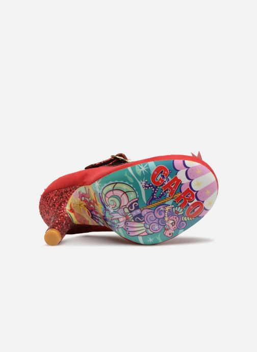 Escarpins Irregular Choice BERYLL BLOSSOM Rouge vue haut