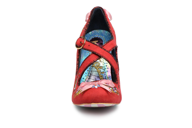 Escarpins Irregular Choice BERYLL BLOSSOM Rouge vue portées chaussures