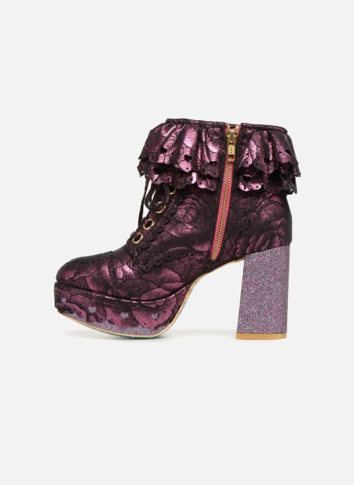 Bottines et boots Irregular Choice FRILLY KNICKERS Rose vue face