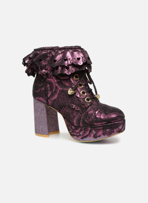 Ankle boots Irregular choice FRILLY KNICKERS Pink detailed view/ Pair view