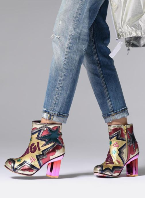 Bottines et boots Irregular Choice BANG POW Multicolore vue bas / vue portée sac