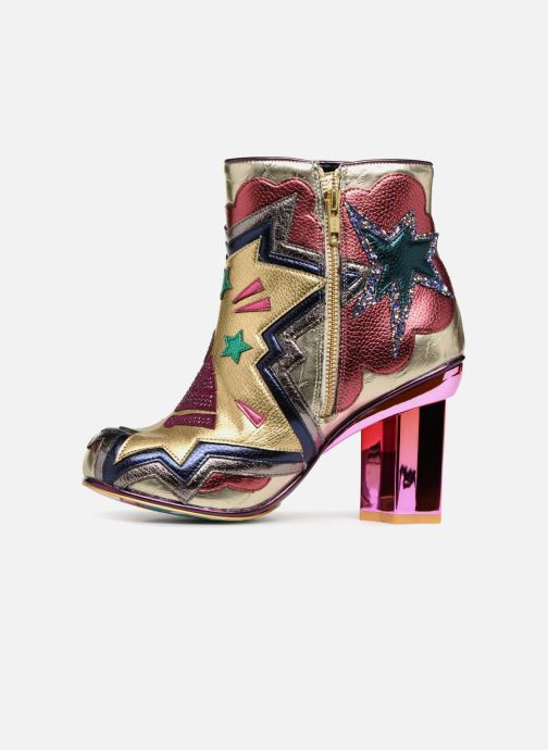Bottines et boots Irregular Choice BANG POW Multicolore vue face