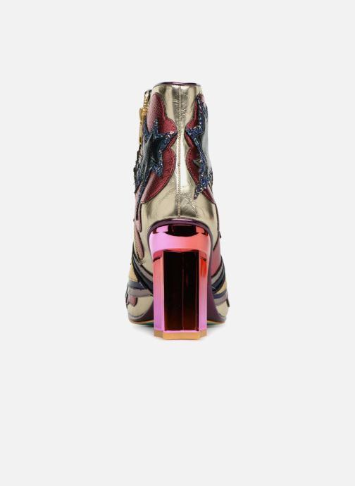 Bottines et boots Irregular Choice BANG POW Multicolore vue droite