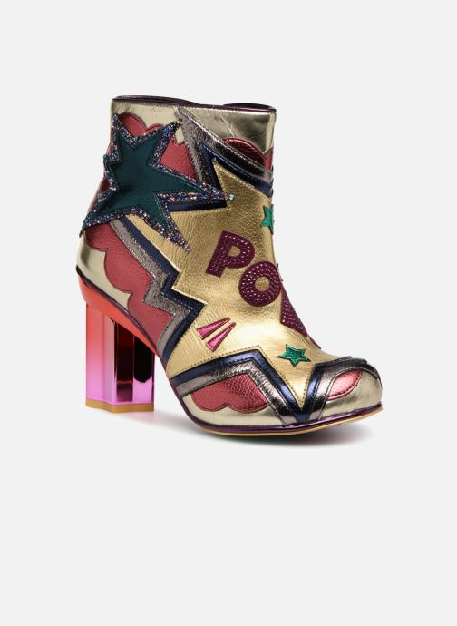 Bottines et boots Irregular Choice BANG POW Multicolore vue détail/paire