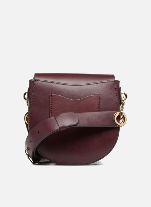 Sacs à main Liebeskind Berlin Round Daddy Crossbody Small Bordeaux vue face