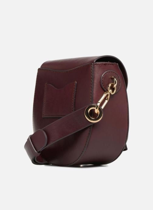 Sacs à main Liebeskind Berlin Round Daddy Crossbody Small Bordeaux vue droite
