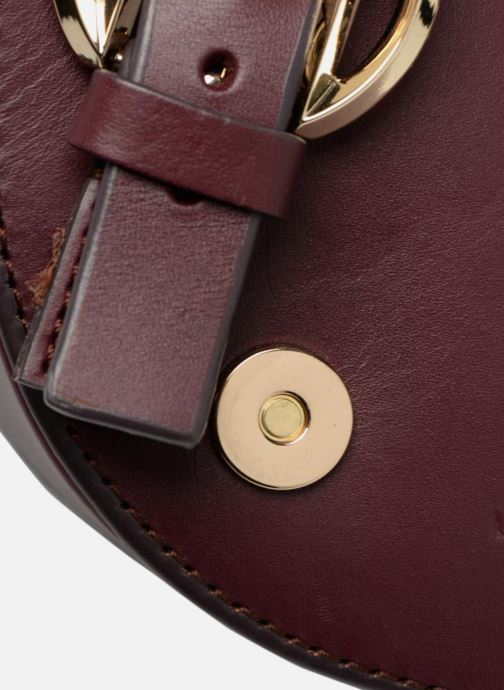 Sacs à main Liebeskind Berlin Round Daddy Crossbody Small Bordeaux vue gauche
