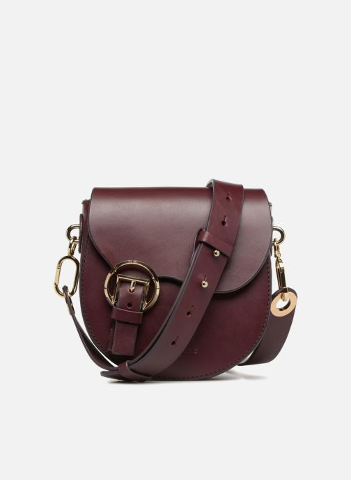 Sacs à main Liebeskind Berlin Round Daddy Crossbody Small Bordeaux vue détail/paire